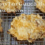 Gluten Free Garlic & Herb Cheese Biscuits drkarenslee