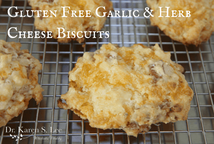 Gluten Free Garlic & Herb Cheese Biscuit