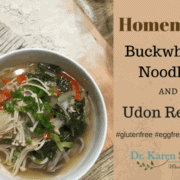 buckwheat udon recipe by drkarenslee