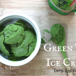 Green Tea Ice Cream Recipe by drkarenslee