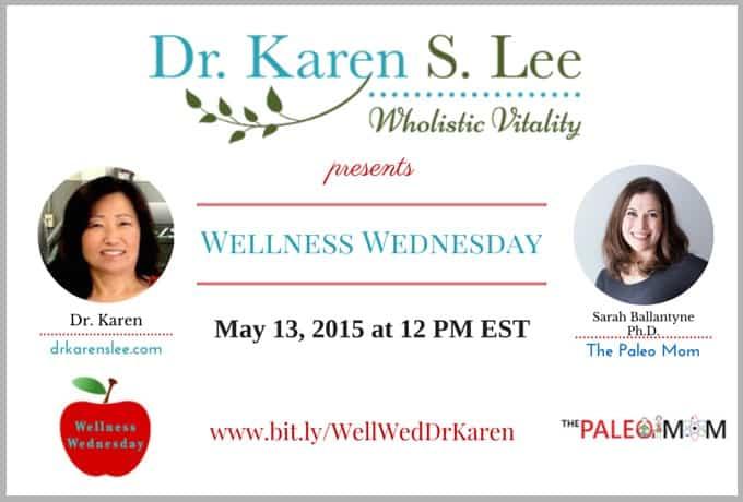 Wellness Wednesday with Sarah Ballantyne