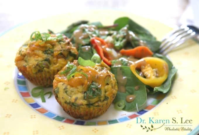 grainfree savory breakfast muffins by drkarenslee