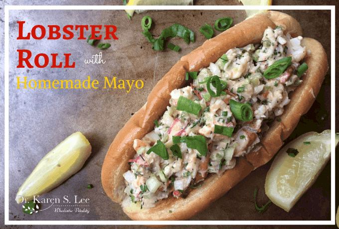 Lobster Roll with Homemade Mayo