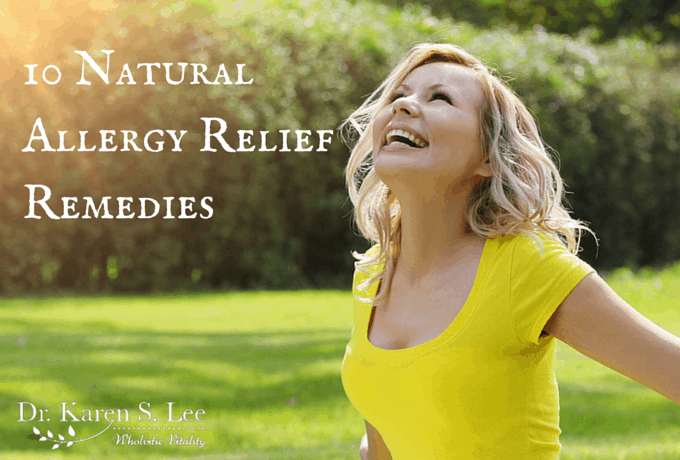 10 Natural Allergy Relief Remedies