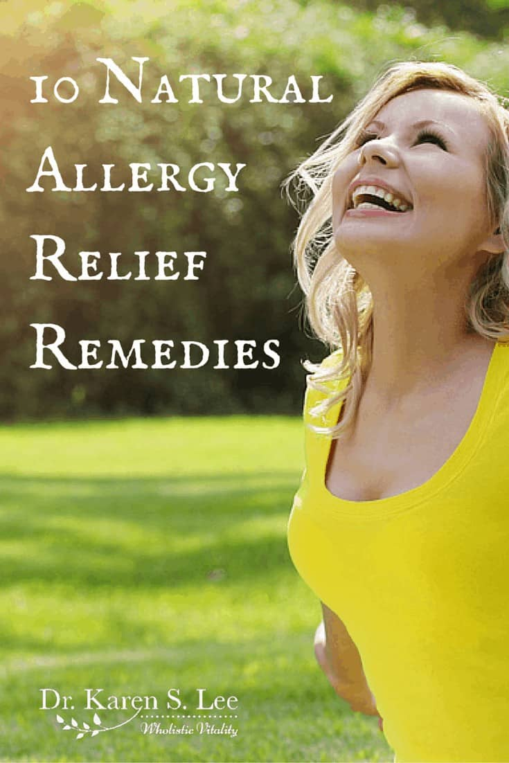Natural Allergy Relief Remedies by drkarenslee.com