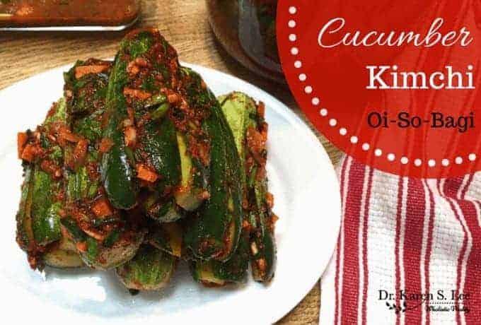 cucumber kimchi by drkarenslee