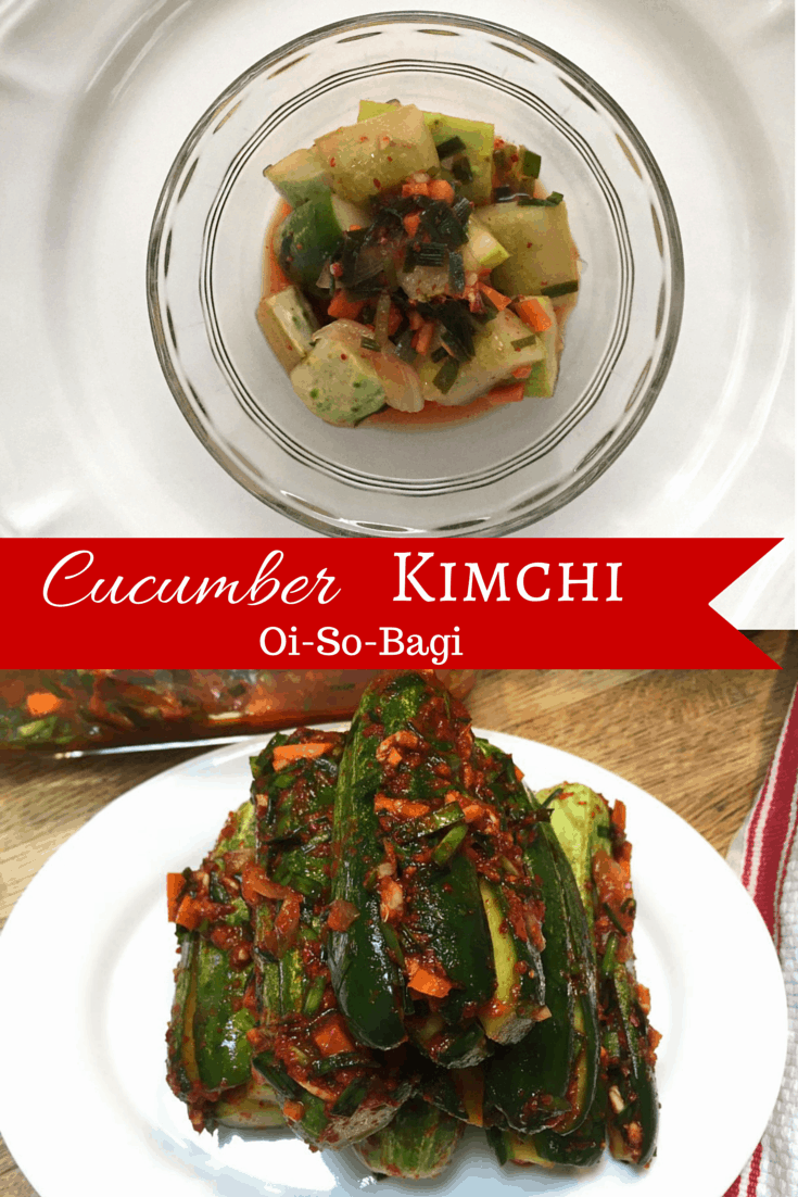 cucumber kimchi (oisobagi) by drkarenslee