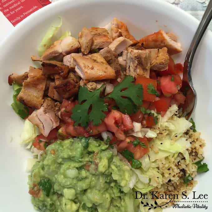 Burrito Bowl Ingredients Paleo Cookbook