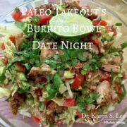 Burrito Bowl from Paleo Cookbook