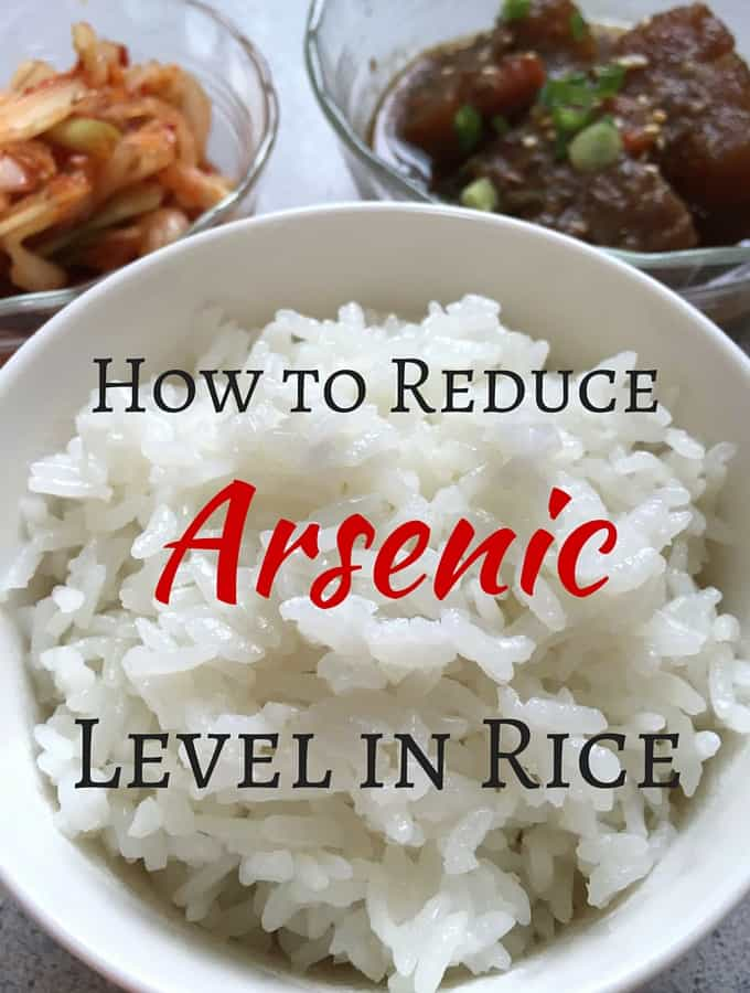 How to Reduce Arsenic Level in Rice