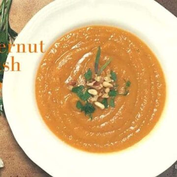 Butternut Squash Soup for Instant Pot by drkarenslee