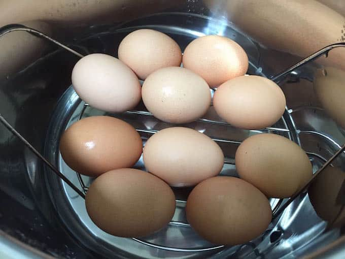eggs in the instant pot