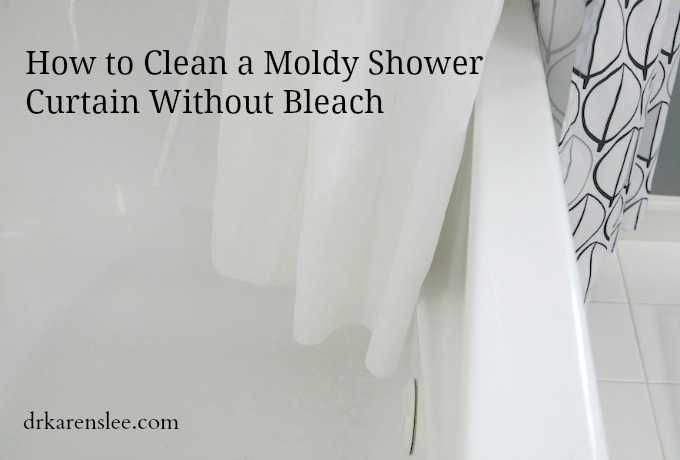 Cleaning Mold In Shower Naturally to clean a moldy shower curtain without bleach