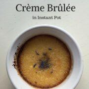 Lavender Creme Brulee Pin