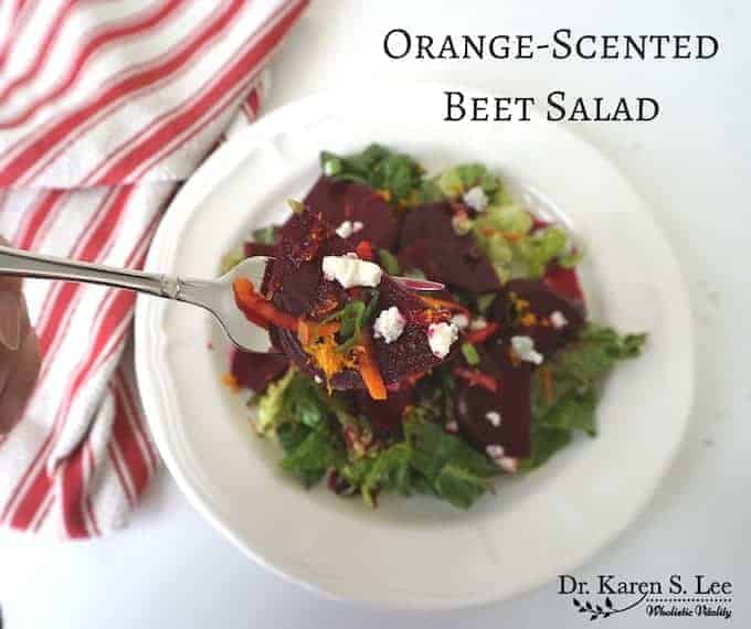 Orange Scented Beet Salad