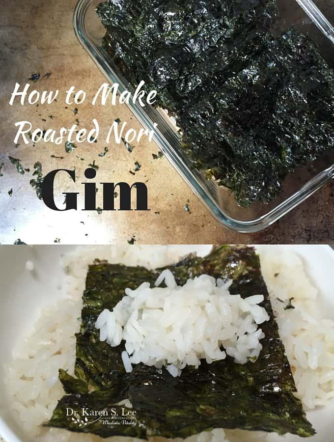 How to Make Roasted Nori – GIM
