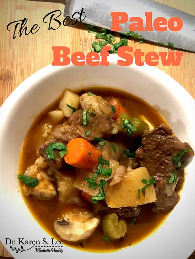 The Best Paleo Beef Stew in Instant Pot®