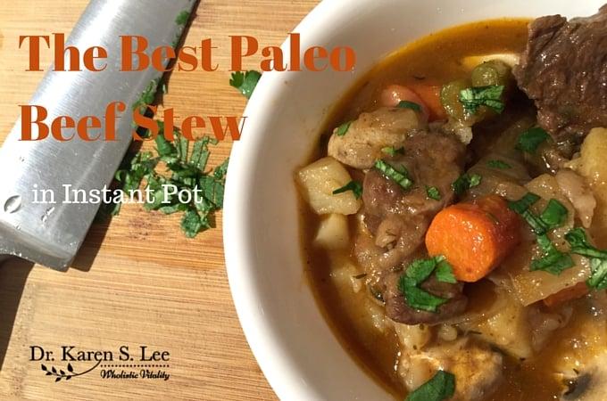 The Best Paleo Beef Stew