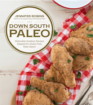 Down South Paleo cook book cover