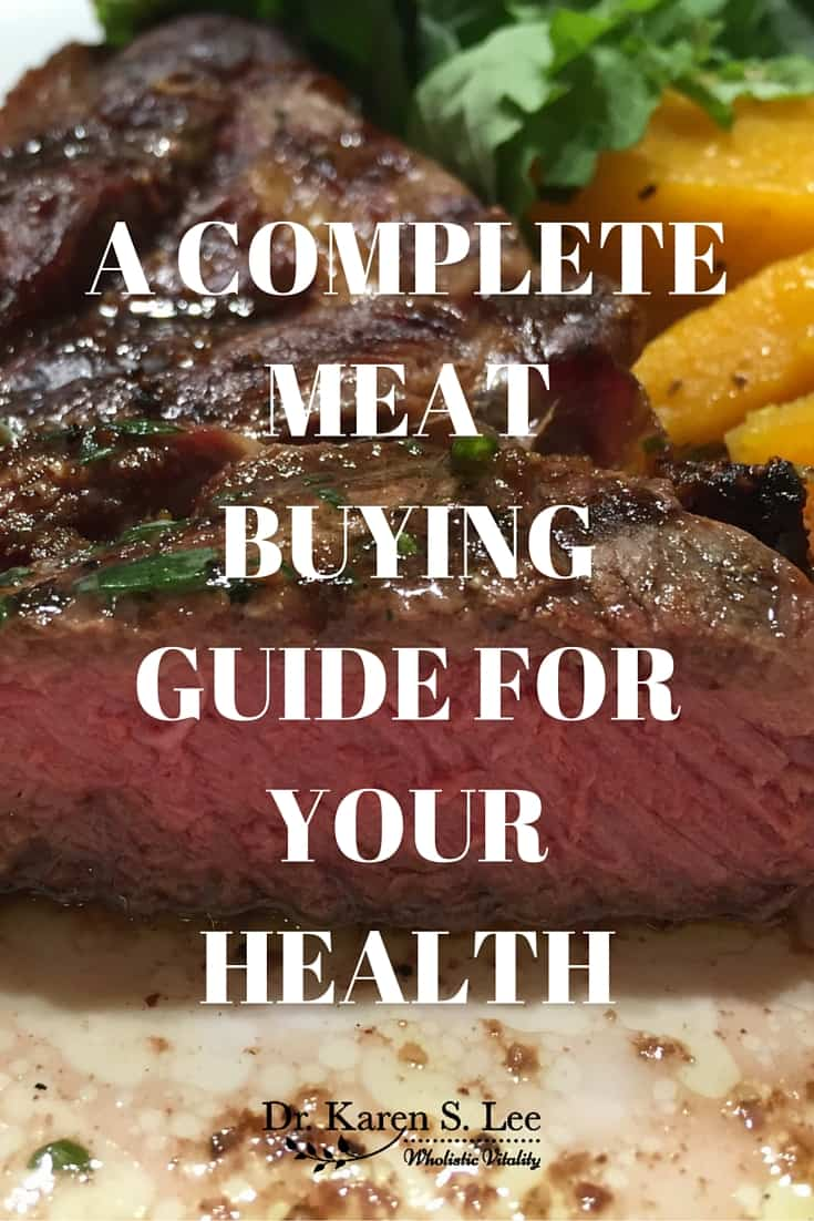 A COMPLETE MEAT BUYING GUIDE FOR YOUR HEALTH