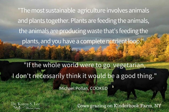 Michael Pollan Quote on Sustainable Eating