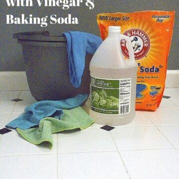 12 Natural Cleaning Methods with Vinegar and Baking Soda