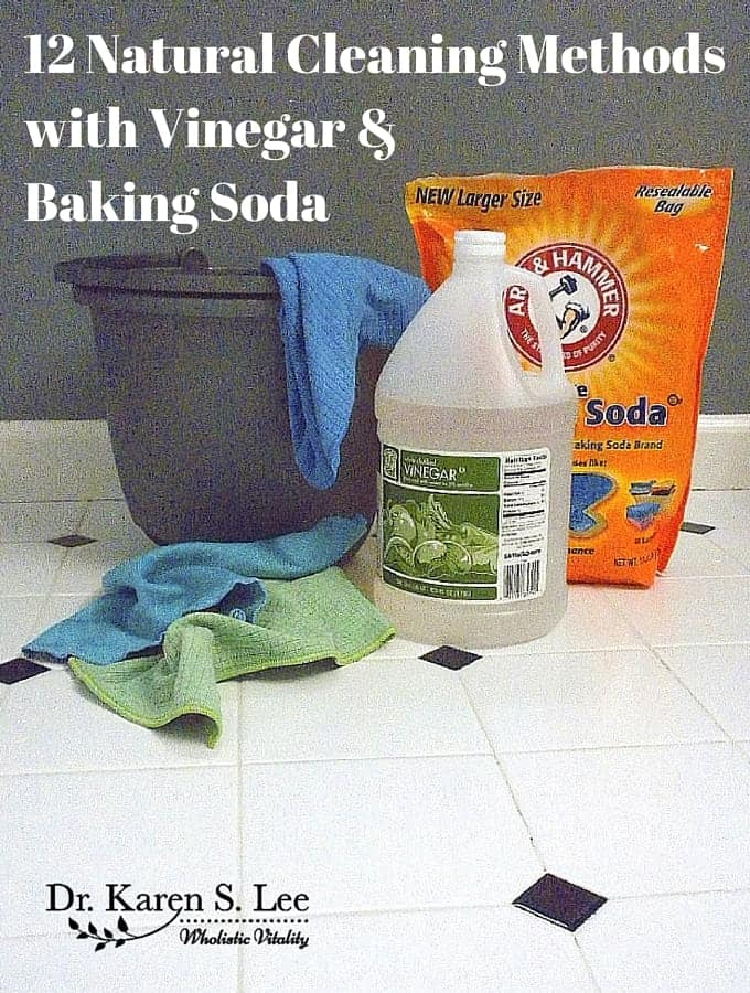 12 Natural Cleaning Methods Using Vinegar and Baking Soda