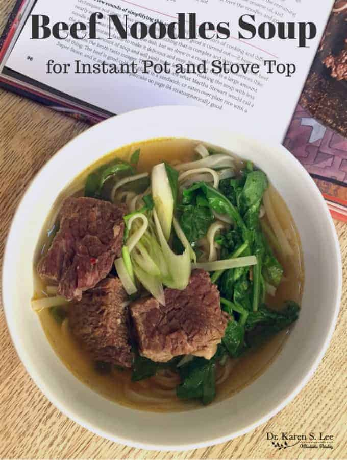 Paleo Beef Noodles Soup Recipe