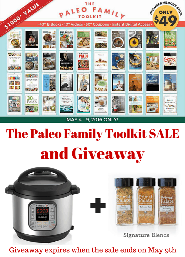 Paleo Tool Kit and Giveaway