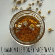 Chamomile Honey Face Wash