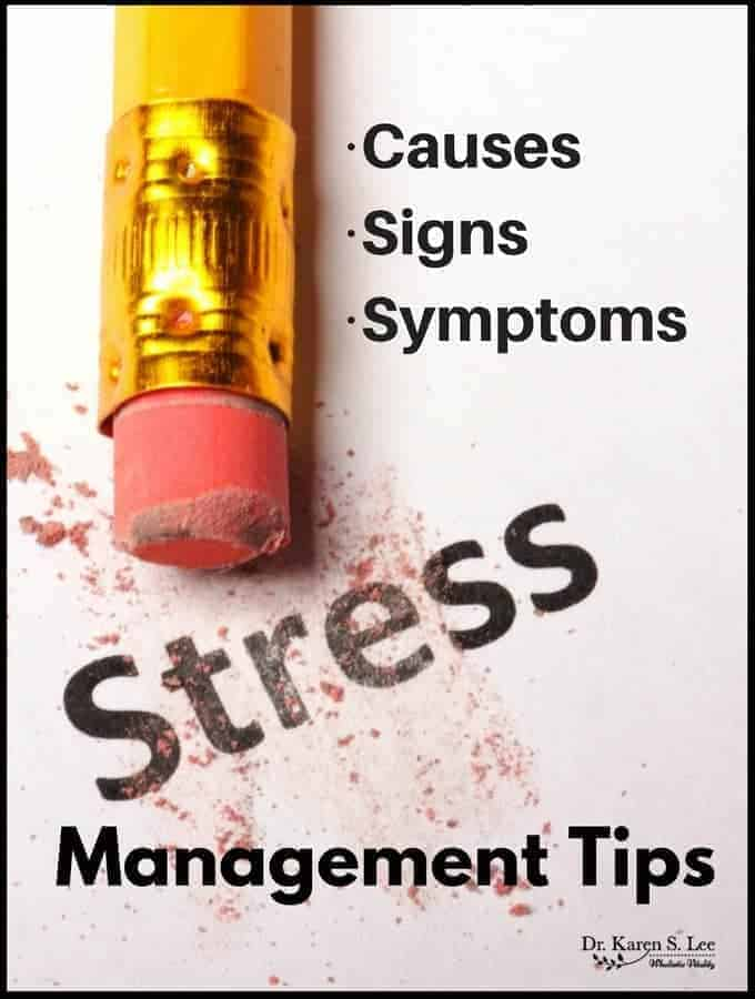 Stress: Causes, Signs, Symptoms and Management Tips
