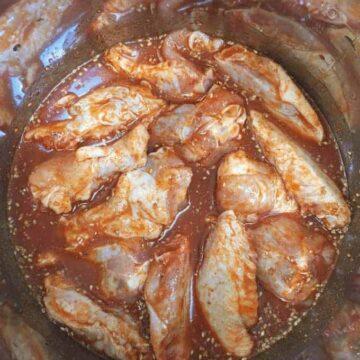chicken wings in Instant Pot