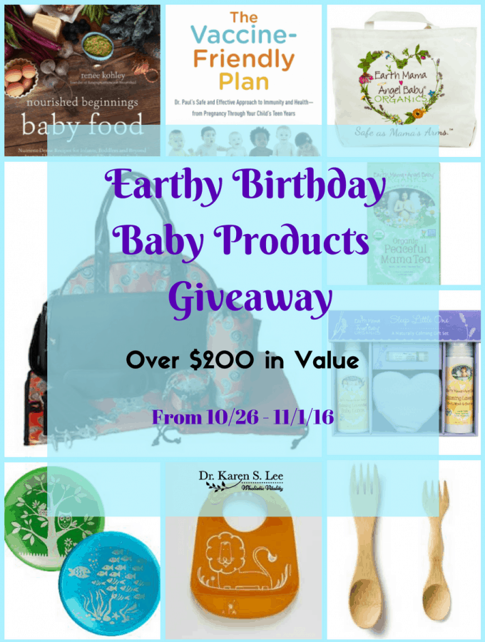 Earthy Birthday Giveaway