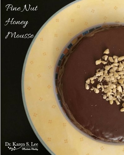 Pine Nut Honey Mousse