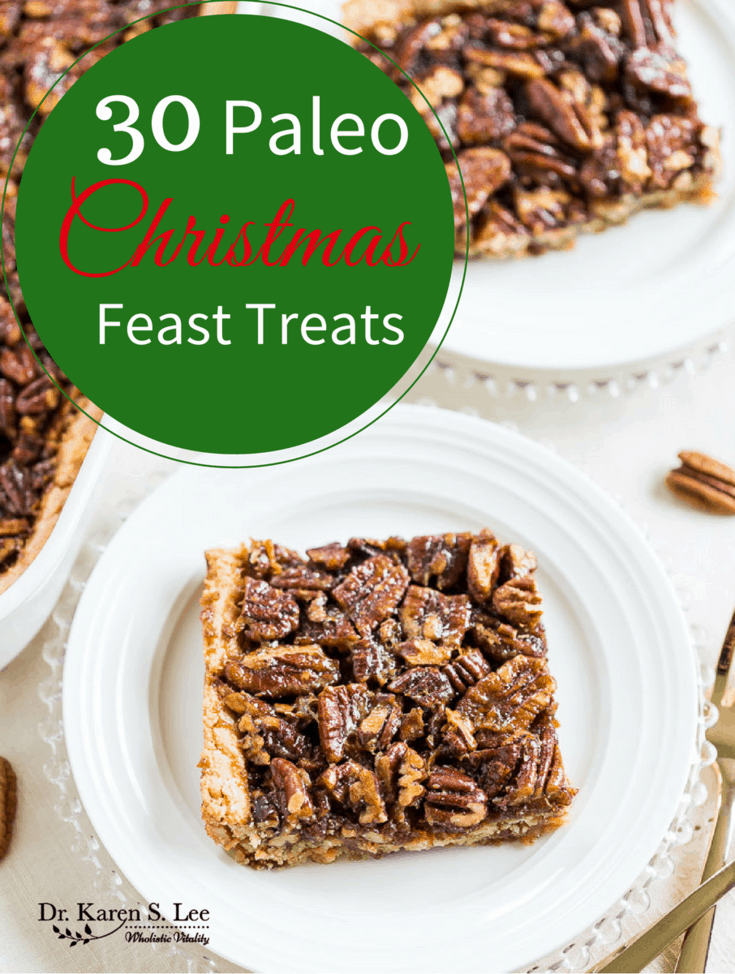 paleo christmas feast treats