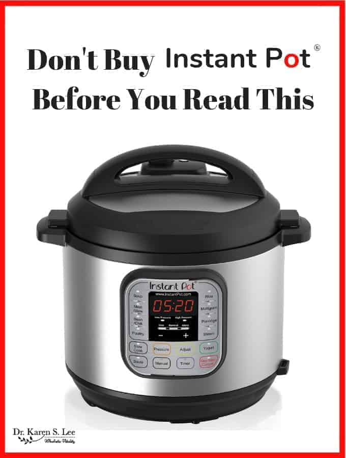 Title Don't Buy Instant Pot Before You Read This above Instant pot