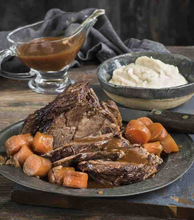 brisket with carrots