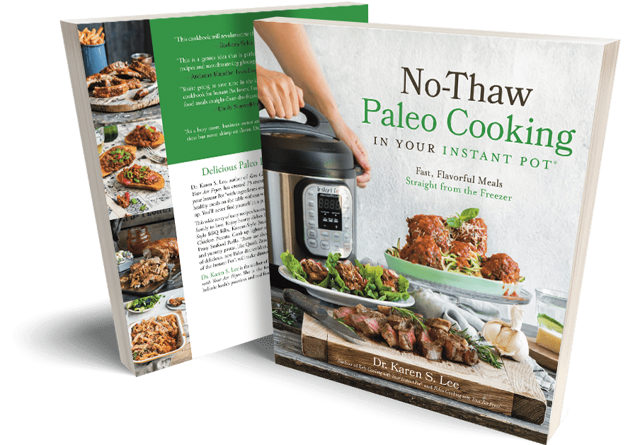 no thaw paleo cooking in your instant pot cookbook