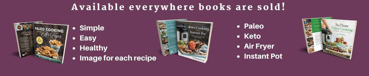 3 cookbooks for sale