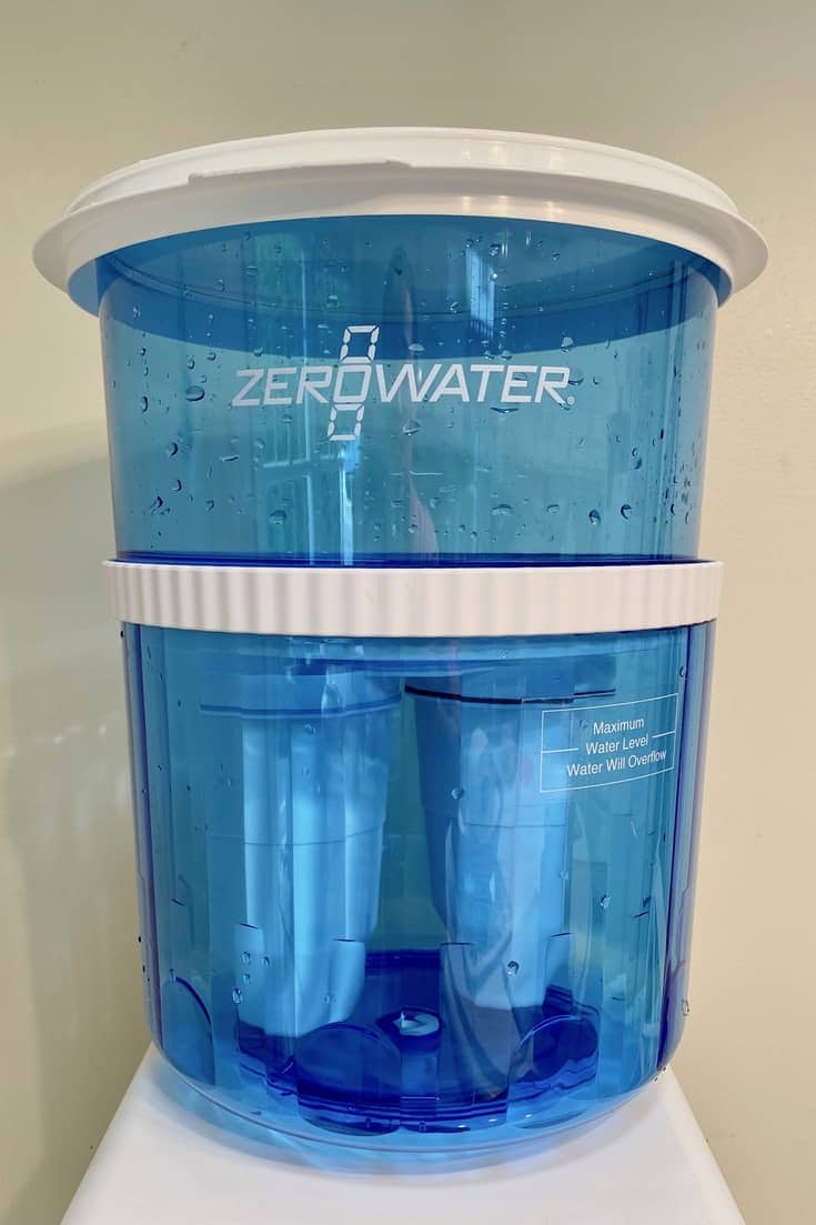does zero water remove chlorine